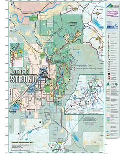 Cranbrook Community Forest Trail Maps