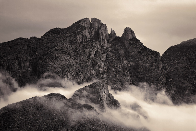 Clouds In The Catalinas
