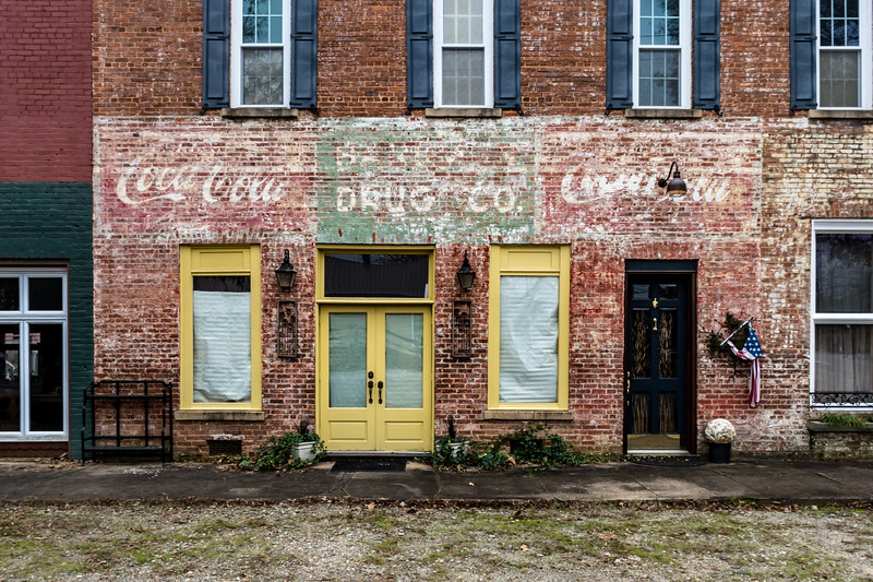 GA, Colbert - Coca-Cola Ghost Sign 02