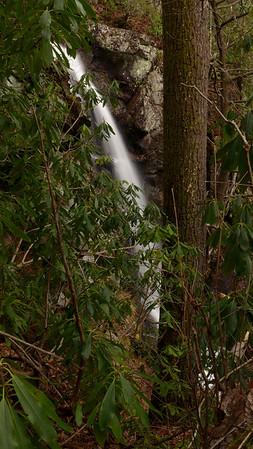 Twin Boulders (aka, Waterfall on Right Fork)