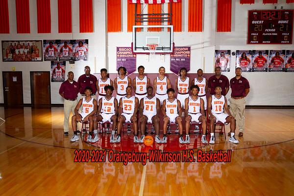 2020-2021 Boys Varsity Basketball