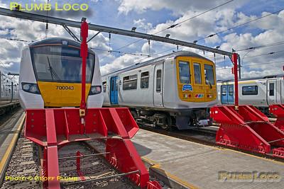 BLS Class 319 Farewell/Cauldwell Depot Salute