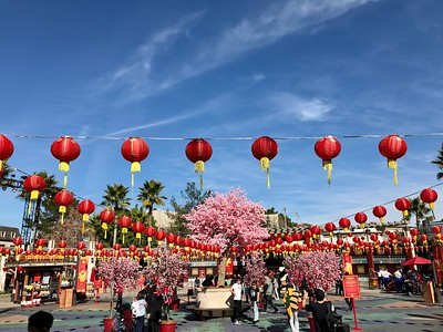 2020-01-23 - Lunar New Year at Universal Studios Hollywood