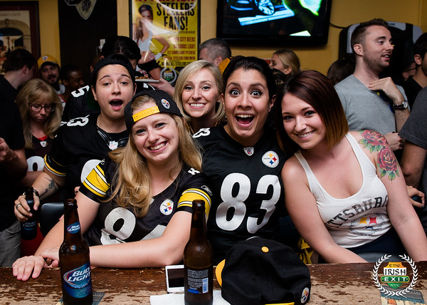 Irish Exit - Steelers 9/7/14