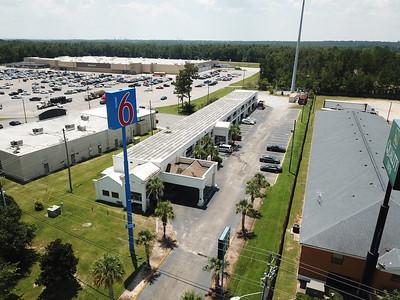 Motel 6 Saraland - Unedited Aerials