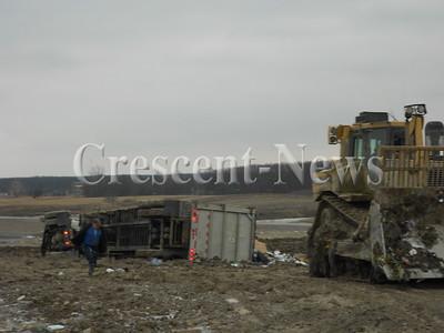 12-23-13 NEWS landfill truck