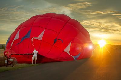 PA-Berks-Pottstown-US Hot Air Balloon Team