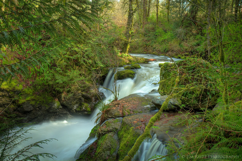 Hidden Falls on Tokul Creek
