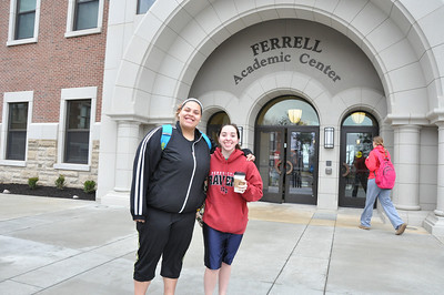 Ferrell Academic Center~ First day of classes