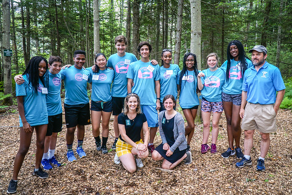 July 3: Student Leaders on the Ropes Course