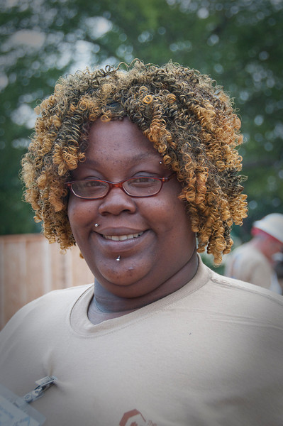 Marilyn Loyd will be living in her new home with her daughter, Zymerical, 5, and son, Amillion, 3. Marilyn has been working to achieve her GED in an effort to find income to supplement payments she receives from disability.  mlj