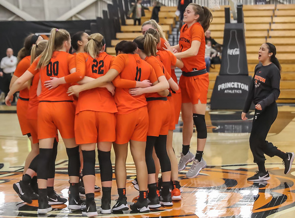 Princeton WBB vs Yale - Post Game Celebration