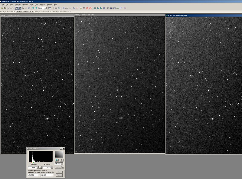 8. Your image has been split in three channels. Notice the grade of the light pollution is different in each channel.jpg