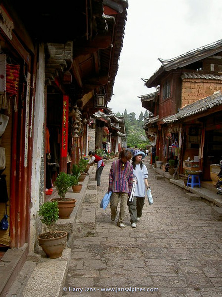 Lijiang, the old city