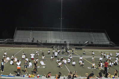 Aug 25, 2011 Marching Band Rehearsal