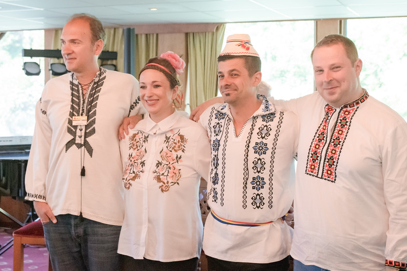 Christian from Romania, Boyanna from Serbia, Christi and ... from Romania.