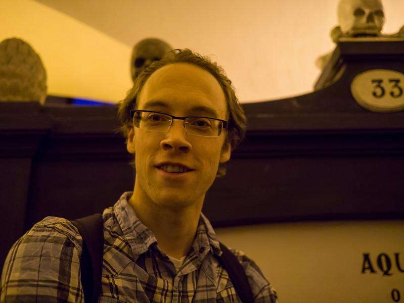 Dan in the Catacombs