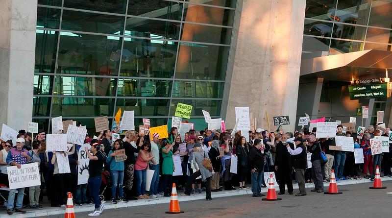 Demonstration against Trump Arab-Muslim Ban.JPG