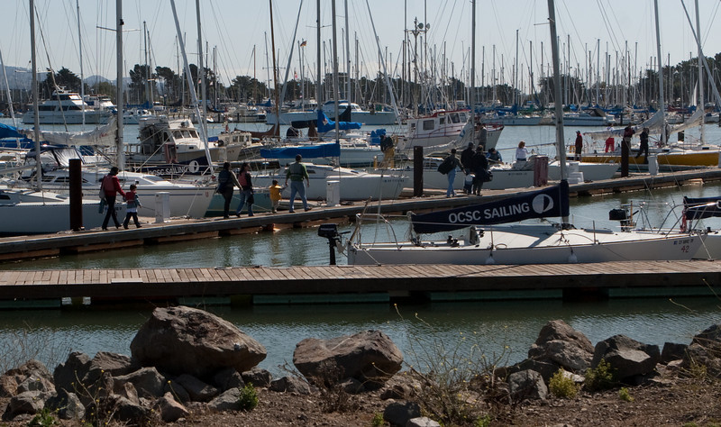 During the event, OSCS provided sailboats for attendees to go out on San Francisco Bay.  One-hour sails were arranged during the event.