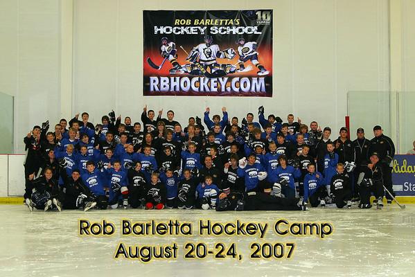 Rob Barletta Hockey Camp Group Photos 2007