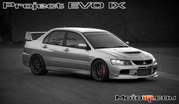 MotoIQ's Project Mitsubishi EVO IX