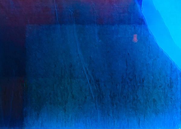 Glass in Blue