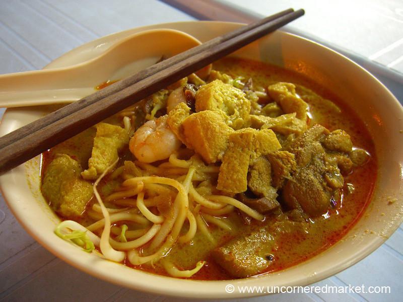 Malaysian Food, Penang Curry Mee - Penang, Malaysia