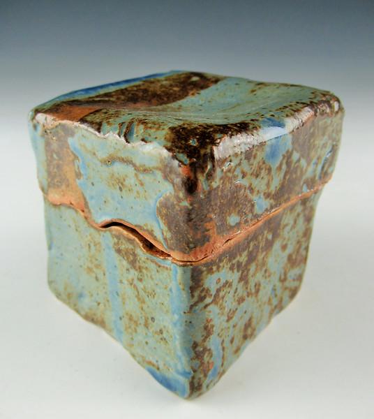 John Christakos Lidded Container- Silver Key.jpg