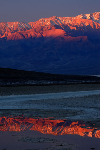 Dawn, Badwater