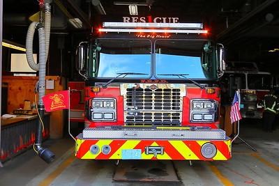 Fall River Rescue 1 Dedication
