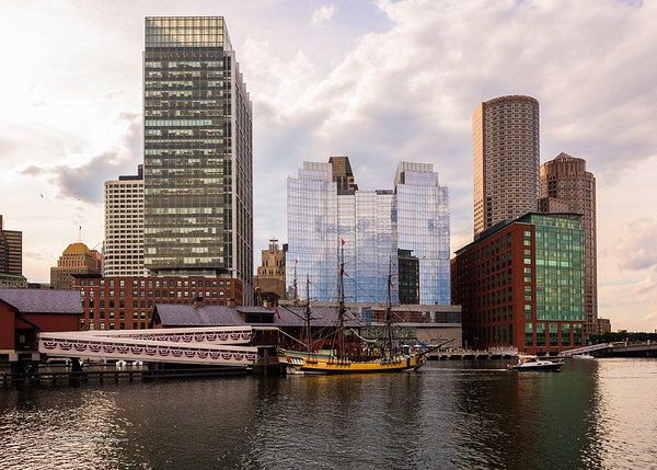 Boston's Fort Point Channel