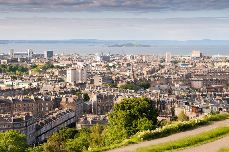 Looking over Leith