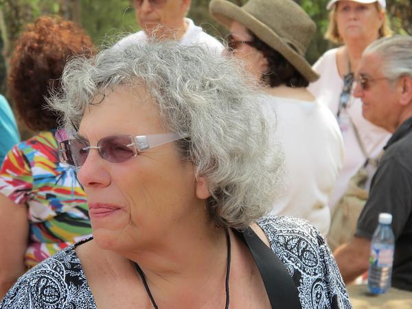 Linda Weber at Bayon