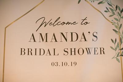 2019 Amanda's Wedding Shower