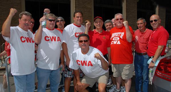 Rally at Verizon Headquarters July 30, 2011