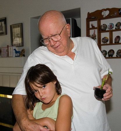 Dad and Terri Birthday 2006