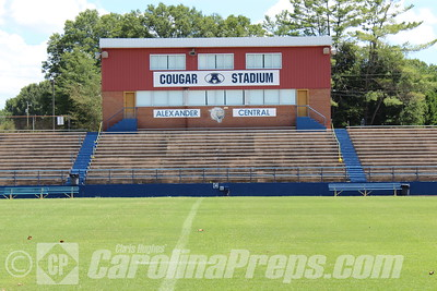 Alexander Central - Glenn G. Wilson Field at Cougar Stadium