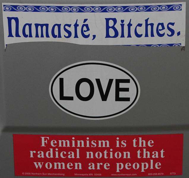 Bumper stickers love