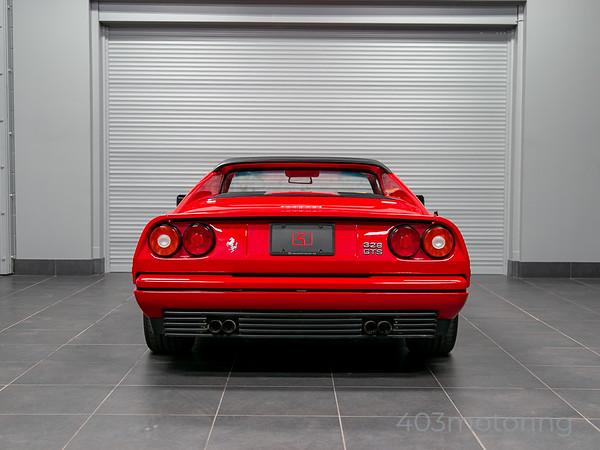 '89 328 GTS - Rosso Corsa