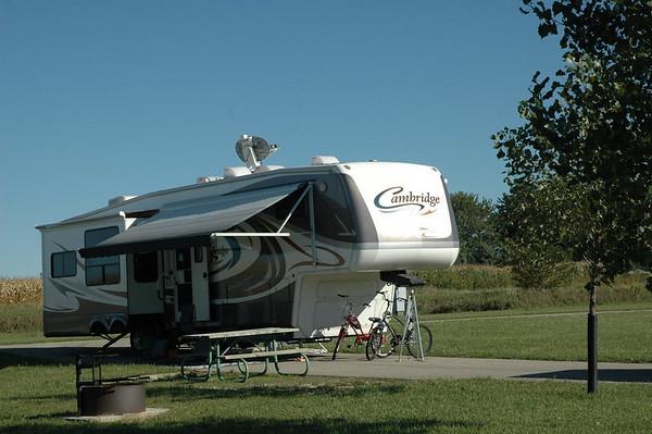 Journal Site 42: Elinor Bedell State Park, Spirit Lake, Iowa   -  September 20, 2006
