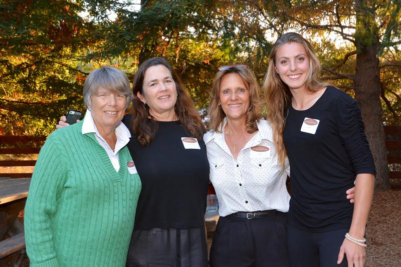 Wendy Albrecht, Kathy Jolson, Cindy Krout and Caroline Hoog