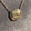 'In Hope' 18kt Yellow Gold Cast Pendant, by Seal & Scribe 22