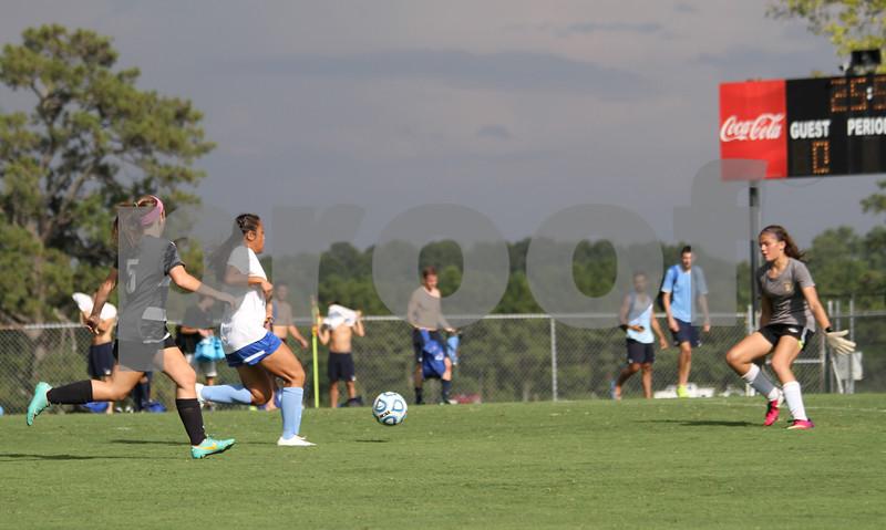 Berry vs U-19 club scrimmage 8-23-14 CH