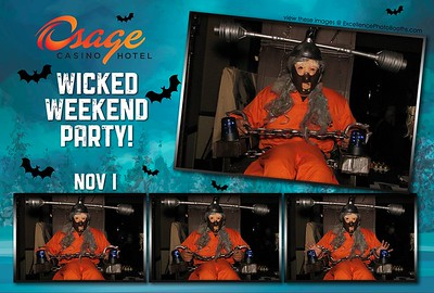 Osage Casino Wicked Weekend Party 2014