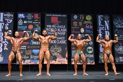 NPC Prejudging Bodybuilding