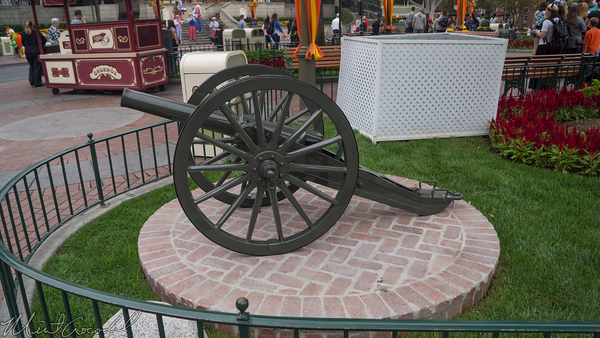 Disneyland Resort, Disneyland, Main Street USA, Canon, Cannon