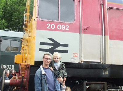Mr G & The Kids on our days of Bashing and Rail Adventures.