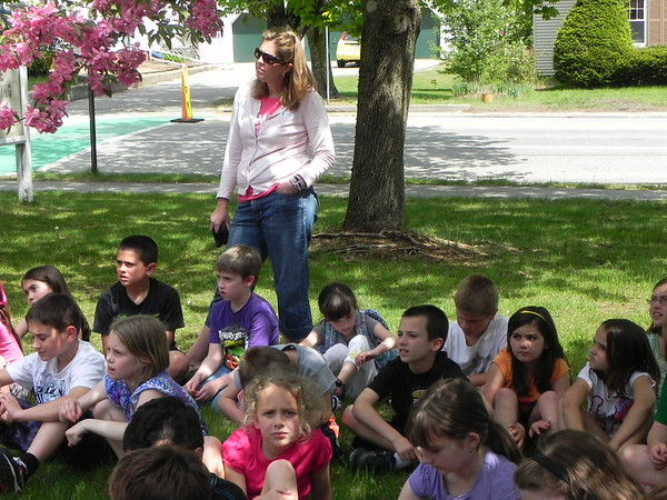 Pollard 2nd Grade Tree Planting