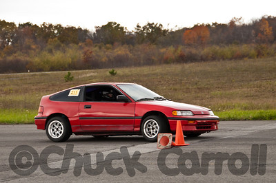 SCCA-CPR Autocross, Sunday October 16, 2011 held at the Midstate Airport