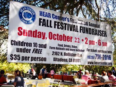 HEAR Center's 3rd Annual Fall Fundraiser, 2017